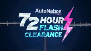 AutoNation 72 Hour Flash Clearance TV Spot, 'Labor Day: 2019 Dodge Models'