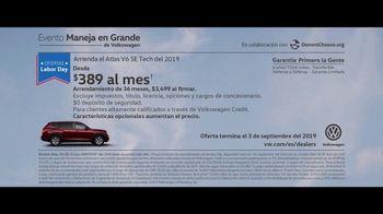 Volkswagen Evento Maneja en Grande TV Spot, 'Dejar' [Spanish] [T2] - Thumbnail 9