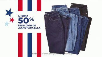 JCPenney Venta de Labor Day TV Spot, 'Jeans para ella, artículos para el hogar y Levi's' [Spanish] - Thumbnail 4