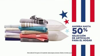 JCPenney Venta de Labor Day TV Spot, 'Jeans para ella, artículos para el hogar y Levi's' [Spanish] - Thumbnail 5