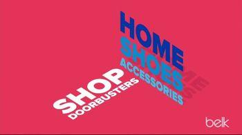 Belk Labor Day Sale TV Spot, 'Bedding Sets, Shoes & Diamond Studs' - Thumbnail 4
