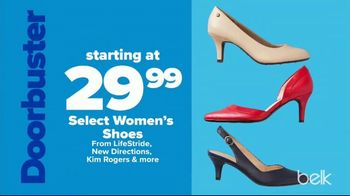 Belk Labor Day Sale TV Spot, 'Bedding Sets, Shoes & Diamond Studs' - Thumbnail 6