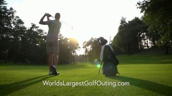 2019 World's Largest Golf Outing TV Spot, 'Tee It Up' - Thumbnail 3