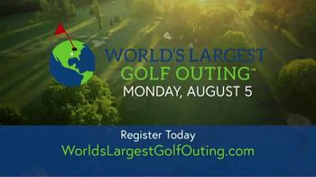 2019 World's Largest Golf Outing TV Spot, 'Tee It Up' - Thumbnail 8