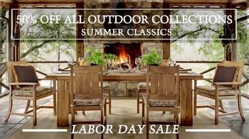 Summer Classics Labor Day Sale TV Spot, 'Outdoor Collections' - Thumbnail 3