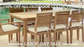 Summer Classics Labor Day Sale TV Spot, 'Outdoor Collections' - Thumbnail 4