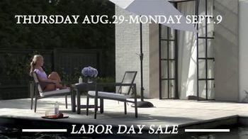 Summer Classics Labor Day Sale TV Spot, 'Outdoor Collections' - Thumbnail 8