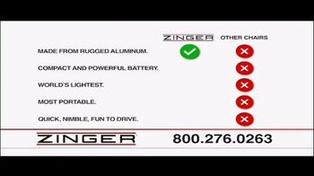 Zinger Chair TV Spot, 'Fun to Drive' - Thumbnail 4