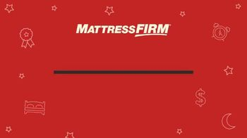 Mattress Firm Labor Day Sale TV Spot, '$600 Savings and Free Adjustable Base: Ends Monday' - Thumbnail 1