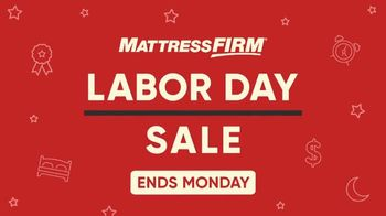Mattress Firm Labor Day Sale TV Spot, '$600 Savings and Free Adjustable Base: Ends Monday' - Thumbnail 2