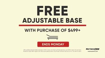 Mattress Firm Labor Day Sale TV Spot, '$600 Savings and Free Adjustable Base: Ends Monday' - Thumbnail 6