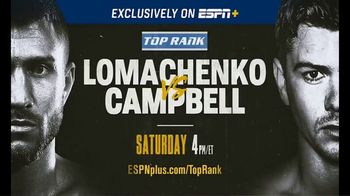 ESPN+ TV Spot, 'Top Rank: Lomachenko vs. Campbell' song by Rick Ross - Thumbnail 9