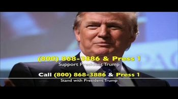 Committee to Defend the President TV Spot, 'Stand Behind President Trump' - Thumbnail 5