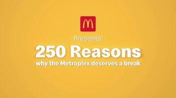 McDonald's Break Menu TV Spot, '250 Reasons: Reason #218' - Thumbnail 1