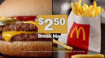 McDonald's Break Menu TV Spot, '250 Reasons: Reason #218' - Thumbnail 4