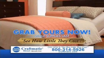 Craftmatic Labor Day Closeout Event TV Spot, 'The Adjustable Bed of Your Dreams' - Thumbnail 4