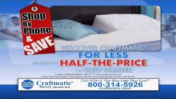 Craftmatic Labor Day Closeout Event TV Spot, 'The Adjustable Bed of Your Dreams' - Thumbnail 5