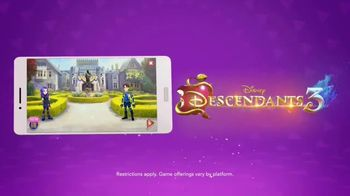 DisneyNOW TV Spot, 'Descendents 3: Wicked Quests Match-3' - Thumbnail 3