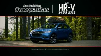 Honda Summer Spectacular Event TV Spot, 'One Tank Trips Sweepstakes: Excitement Begins' [T2] - Thumbnail 9