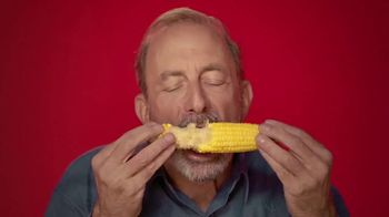 Sea Bond Denture Adhesive Seals TV Spot, 'Corn'