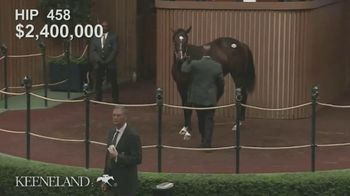 Claiborne Farm TV Spot, '2019 August: War Front: $2,400,000' - Thumbnail 8