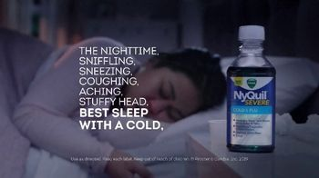 Vicks NyQuil Severe TV Spot, 'Sleep Through Sunday Night' - Thumbnail 5