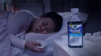 Vicks NyQuil Severe TV Spot, \'Sleep Through Sunday Night\'
