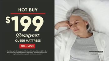 Mattress Firm Labor Day Sale TV Spot, 'Hot Buy and Flash Deal'