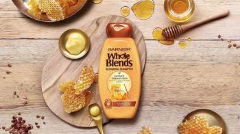 Garnier Whole Blends Honey Treasures TV Spot, 'Nutre y repara' [Spanish] - Thumbnail 1