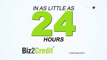 Biz2Credit TV Spot, 'Business Financing in 24 Hours'