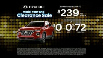 Hyundai Model Year-End Clearance Sale TV Spot, 'All 2019 Models Must Go' [T2] - Thumbnail 8