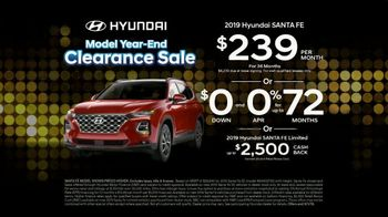 Hyundai Model Year-End Clearance Sale TV Spot, 'All 2019 Models Must Go' [T2] - Thumbnail 9
