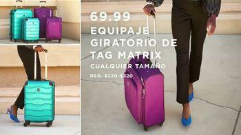 Macy's Venta del Día del Trabajo TV Spot, 'Mezcladoras, sábanas y equipaje' [Spanish] - Thumbnail 4