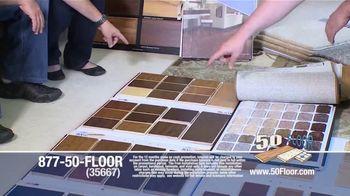 50 Floor TV Spot, 'New Floors: Free Installation' - Thumbnail 4