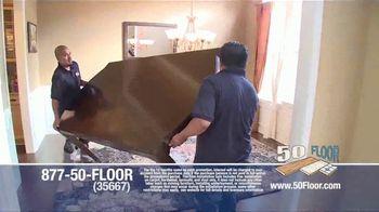 50 Floor TV Spot, 'New Floors: Free Installation' - Thumbnail 5