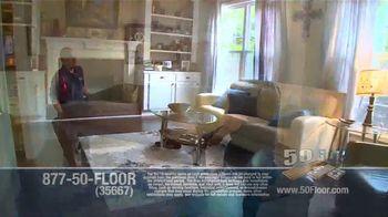 50 Floor TV Spot, 'New Floors: Free Installation' - Thumbnail 6