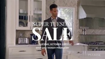 JoS. A. Bank Super Tuesday Sale TV Spot, 'October 2019: Suits, Shirts and Clearance'