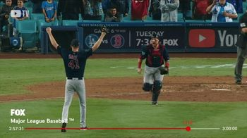 YouTube TV TV Spot, 'World Series: Moon Shots, Walk Offs, Bat Flips' Song by Lizzo - 10 commercial airings