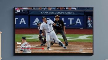 YouTube TV TV Spot, 'World Series: Moon Shots, Walk Offs, Bat Flips' Song by Lizzo - Thumbnail 4