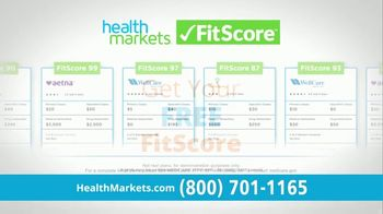 HealthMarkets Insurance Agency FitScore TV Spot, 'In Minutes' Featuring Bill Engvall - 69 commercial airings