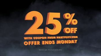 Party City TV Spot, 'Halloween: 25 Percent Off' Song by Wilson Pickett - Thumbnail 3