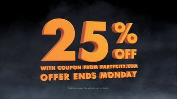 Party City TV Spot, 'Halloween: 25 Percent Off' Song by Wilson Pickett