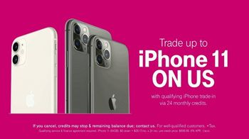 T-Mobile TV Spot, 'Signal: iPhone 11' Song by Aerosmith - Thumbnail 8