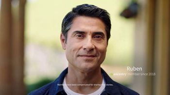 Ancestry TV Spot, 'Ruben: AncestryHealth' - 1209 commercial airings