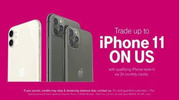 T-Mobile Unlimited TV Spot, 'Signal: iPhone 11: $30 Per Line' Song by Aerosmith - 546 commercial airings