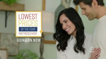 Ashley HomeStore Lowest Prices of the Year Mattress Event TV Spot, 'Zero Interest for Five Years' Song by Midnight Riot - Thumbnail 2