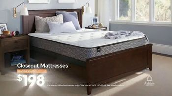 Ashley HomeStore Lowest Prices of the Year Mattress Event TV Spot, 'Zero Interest for Five Years' Song by Midnight Riot - Thumbnail 3