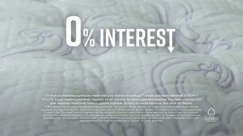 Ashley HomeStore Lowest Prices of the Year Mattress Event TV Spot, 'Zero Interest for Five Years' Song by Midnight Riot - Thumbnail 4