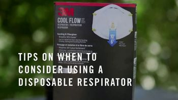 3M N95 Respirator TV Spot, 'DIY Project' Featuring George Oliphant - Thumbnail 2