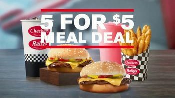 Checkers & Rally's 5 for $5 Meal Deal TV Spot, 'Shaking Things Up' - Thumbnail 9